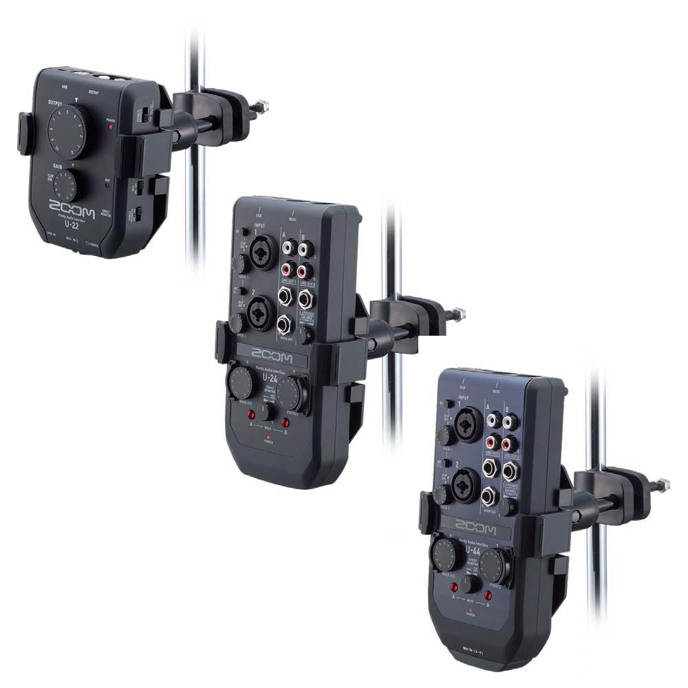ZOOM/AIH-1 Audio Interface Holder オーディオ・インターフェース・ホルダー U-22/24/44用【ズーム】
