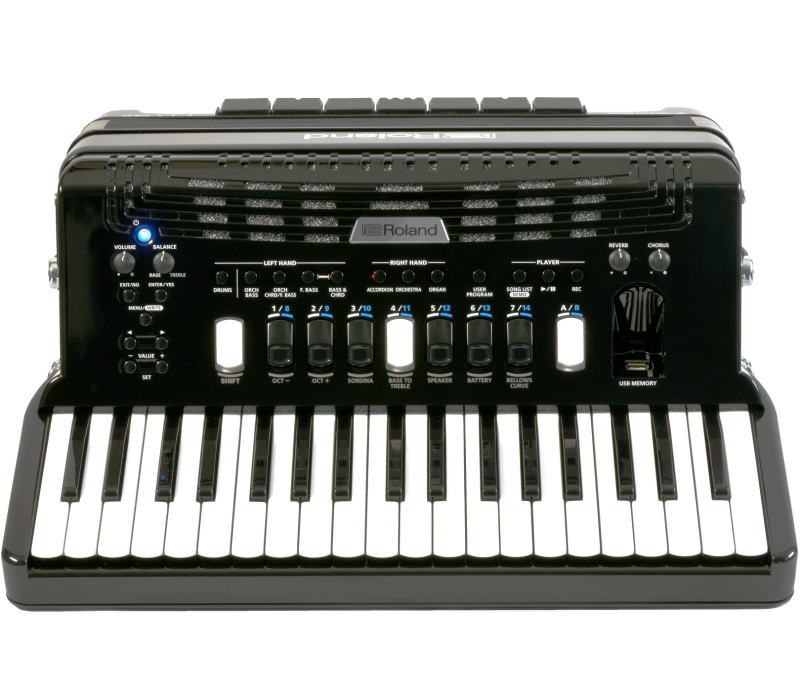 Roland/Vアコーディオン FR-4x RD(ピアノ鍵盤タイプ)【ローランド/V-Accordion】