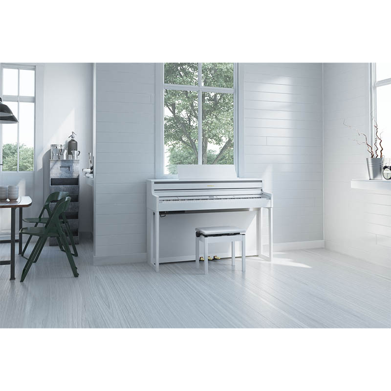 Roland/デジタルピアノ HP704-WHS(ホワイト)【ローランド】【電子ピアノ】【沖縄・離島発送不可】 【代引き不可】