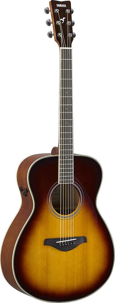 YAMAHA/トランスアコースティックギター FS-TA ブラウンサンバースト(BS)【ヤマハ】