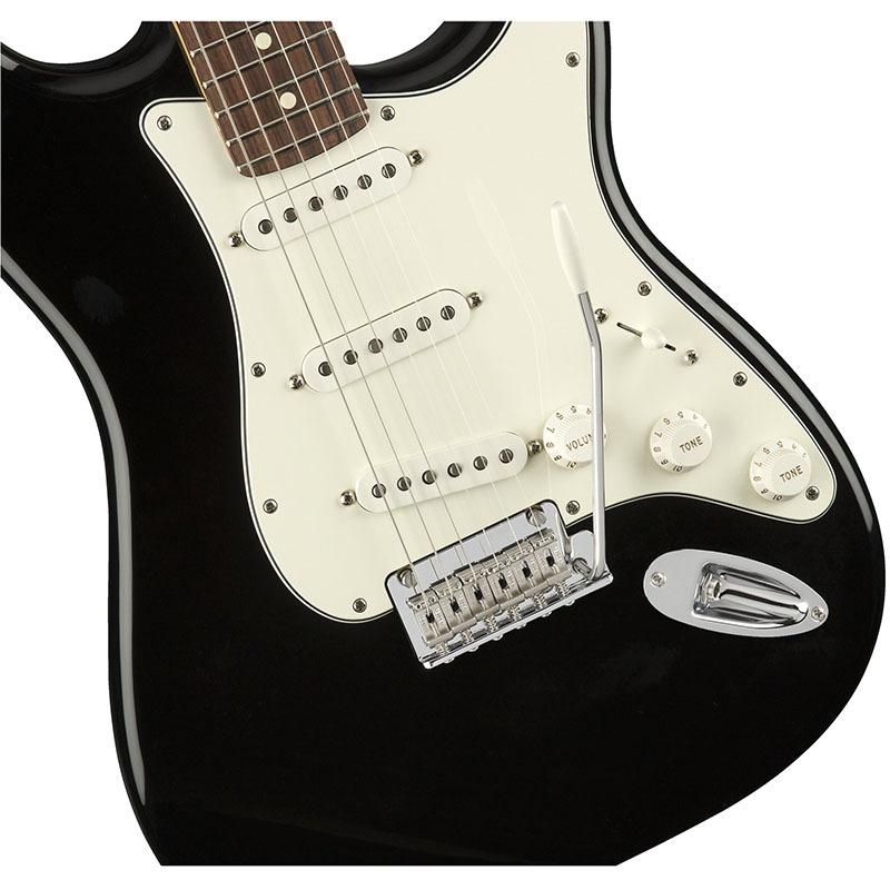Fender Player Stratocaster Black Pau Ferro Fingerboard【フェンダーストラトキャスター】【正規輸入品】