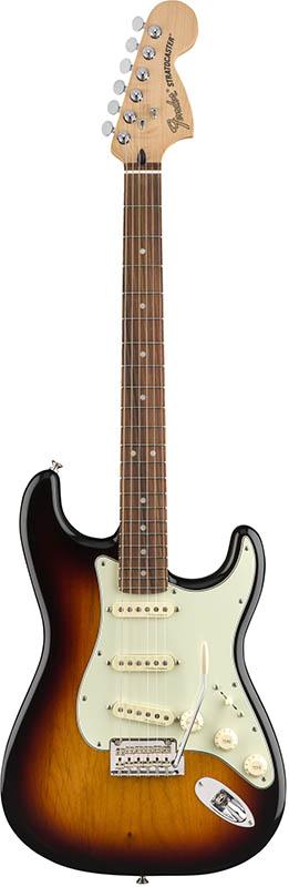 Fender Deluxe Roadhouse Strat 3-Color Sunburst Pau Ferro Fingerboard【フェンダーストラトキャスター】