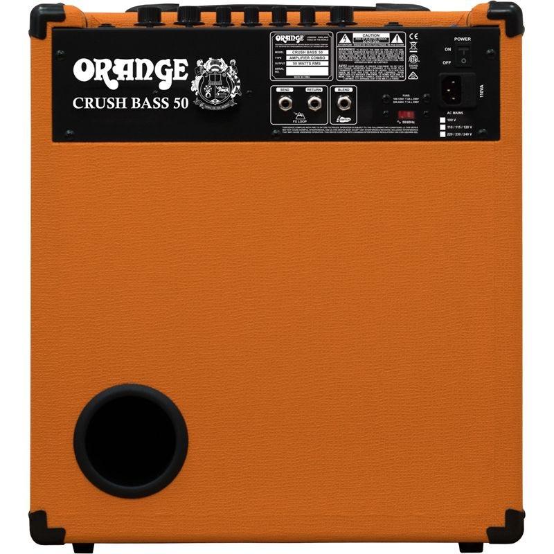 ORANGE ベースアンプ Crush Bass 50B【オレンジ】
