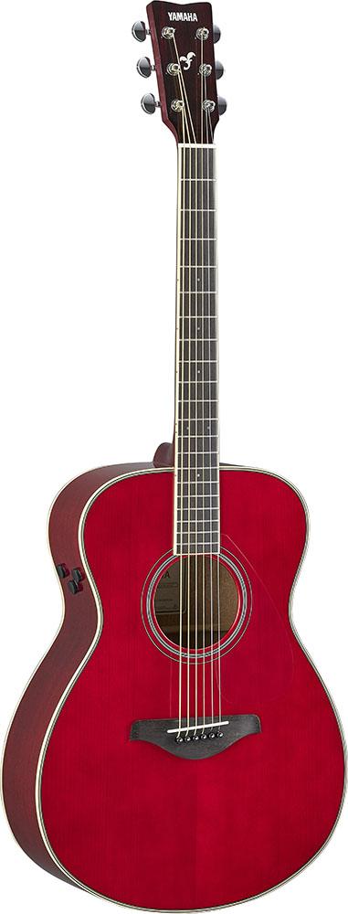 YAMAHA/トランスアコースティックギター FS-TA ルビーレッド(RR)【ヤマハ】