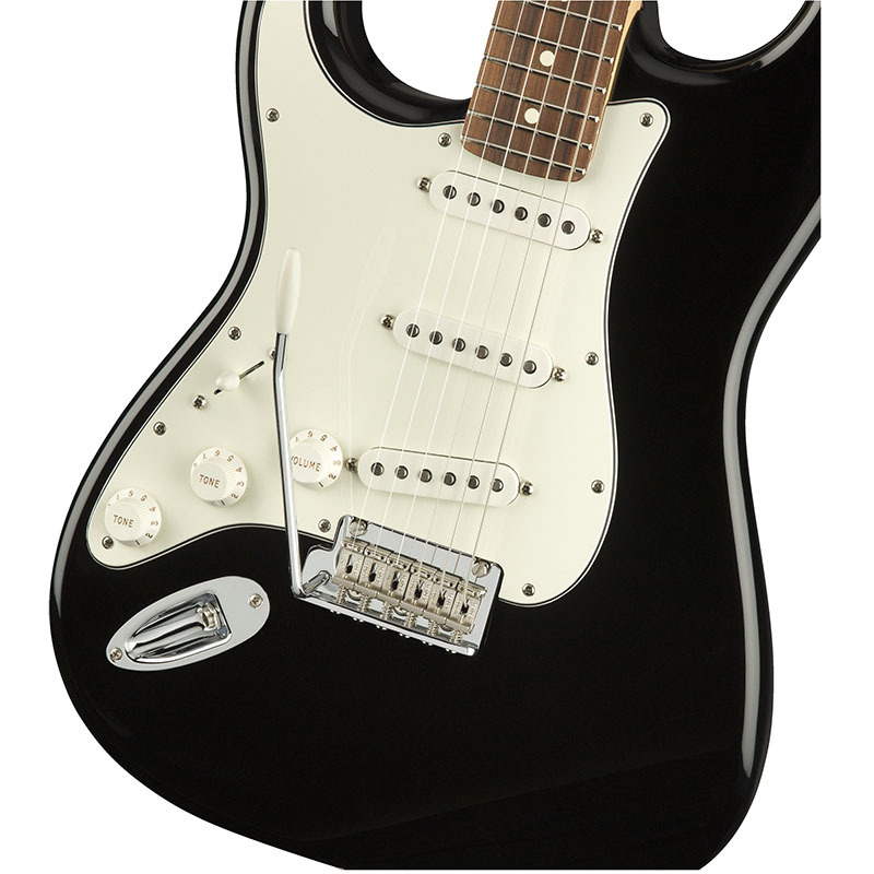 Fender Player Stratocaster Left-Handed Black Pau Ferro Fingerboard 【フェンダーストラトキャスターレフトハンド】【正規輸入品】
