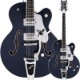 GRETSCH G6136T-RR Rich Robinson Signature Magpie with Bigsby Raven's Breast Blue【グレッチ】