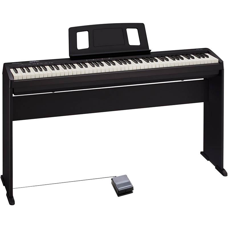 Roland/デジタルピアノ FP-10-BK+KSCFP10-BK【専用スタンドセット】【ローランド】