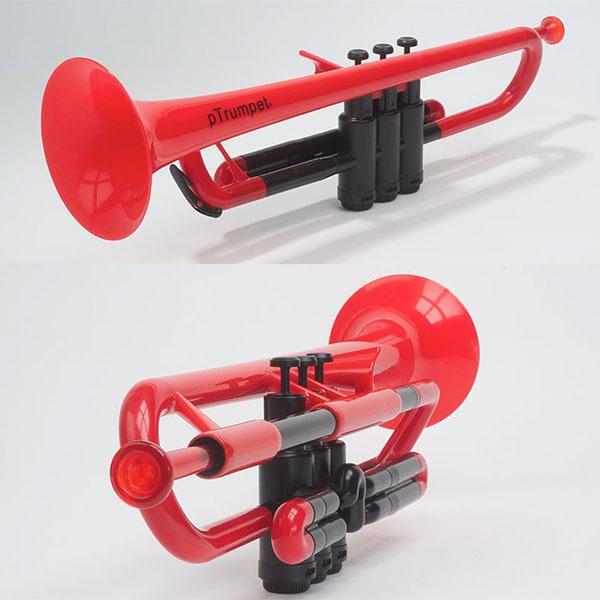 pInstruments/トランペットB♭/pTrumpet 8色 世界初プラスチック製トランペット【pInstruments】