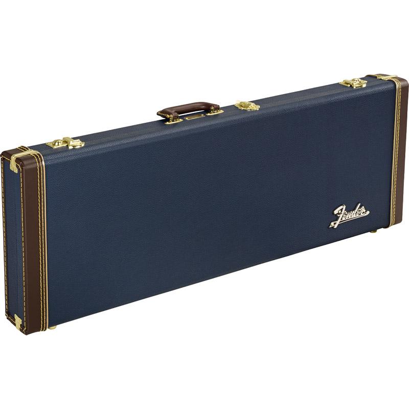 Fender Classic Series Wood Case Strat/Tele, Navy Blue ハードケース【フェンダー】