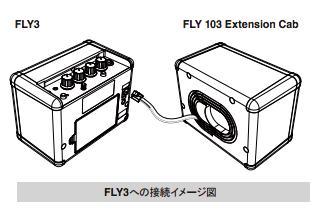 Blackstar/FLY 103 Extention Cab FLY3専 用 の エクステン ション・キ ャビ ネット【ブラックスター】