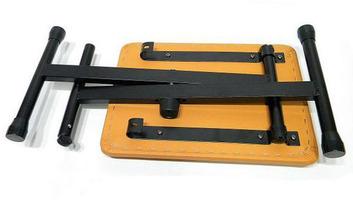 楽器de元気オリジナル椅子 KB-4400 OR-BK