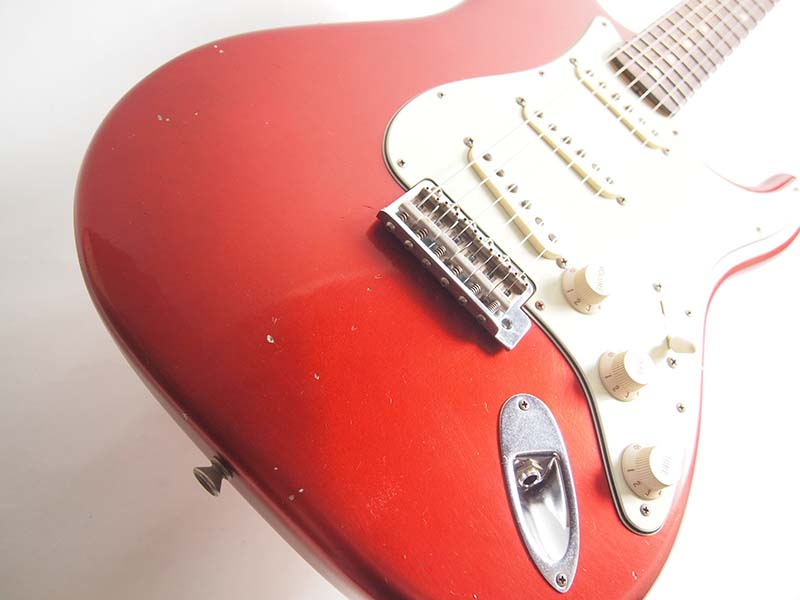 Fender Custom Shop/Spec Piece 1962 Journeyman Relic Stratocaster Aged Candy Apple Red【フェンダー】