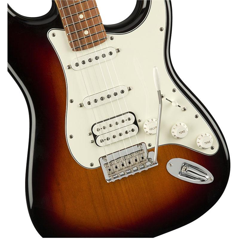 Fender Player Stratocaster HSS 3-Color Sunburst Pau Ferro Fingerboard 【フェンダーストラトキャスター】【正規輸入品】