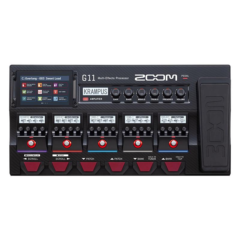 ZOOM/マルチエフェクトプロセッサー G11 マルチエフェクター【ズーム】