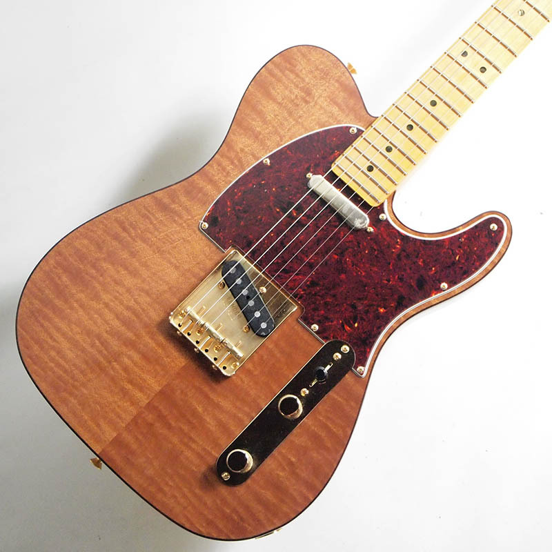 Fender Rarities Red Mahogany Top Telecaster, Maple Neck, Natural【フェンダーUSAテレキャスター.3.35kg】