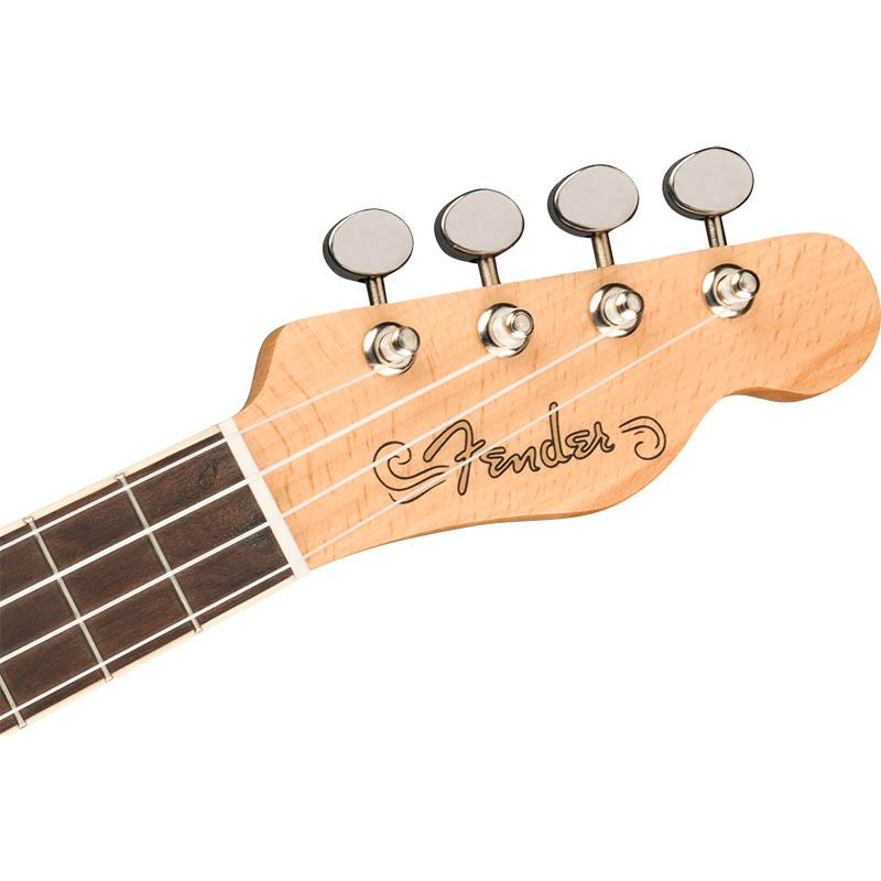 Fender ウクレレ Fullerton Tele Uke, Butterscotch Blonde【フェンダー】