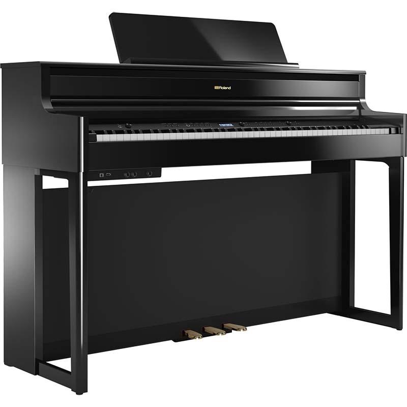 Roland/デジタルピアノ HP704-PES(Polished Ebony 鏡面仕上げ)【ローランド】【電子ピアノ】【沖縄・離島発送不可】 【代引き不可】