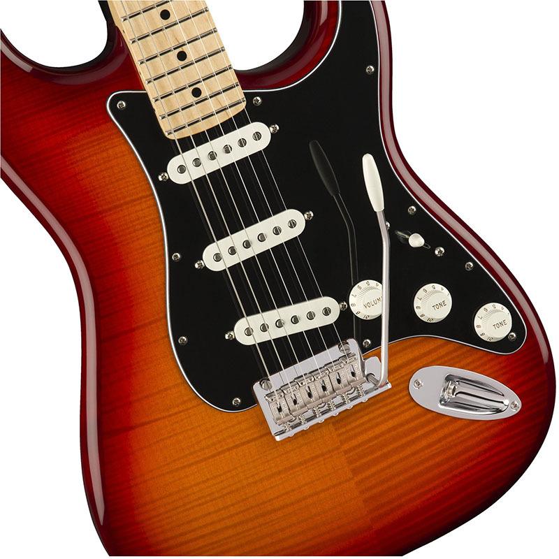Fender Player Stratocaster Plus Top Aged Cherry Burst 【フェンダーストラトキャスター】【正規輸入品】