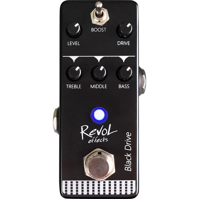 RevoL effects Black Drive EFD-01 アンプシミュレート【レボルエフェクツ エフェクター】