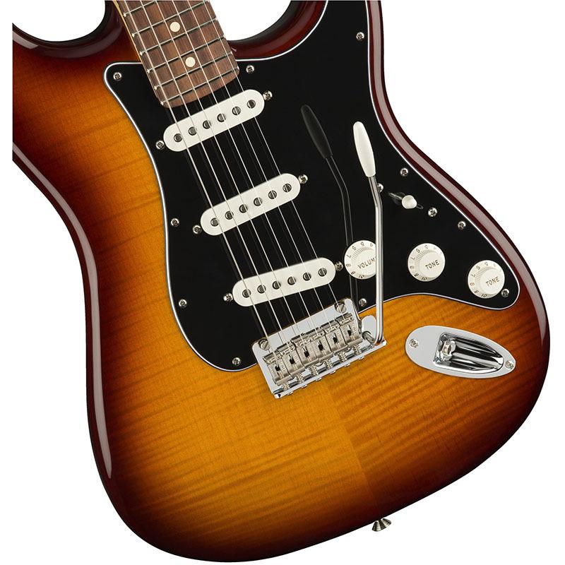 Fender Player Stratocaster Plus Top Tobacco Burst Pau Ferro Fingerboard 【フェンダーストラトキャスター】【正規輸入品】