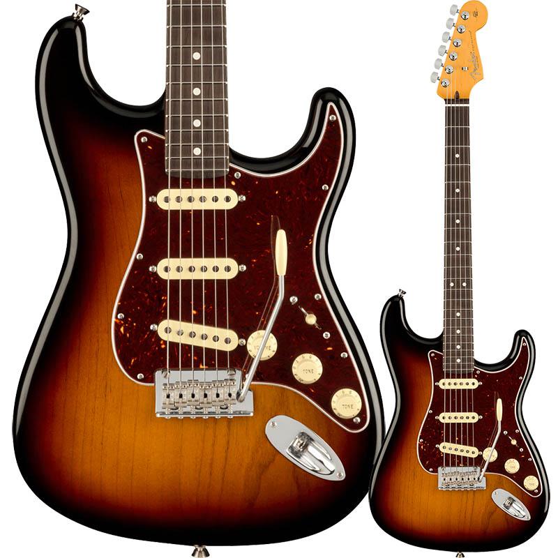 Fender American Professional II Stratocaster, Rosewood Fingerboard, 3-Color Sunburst【フェンダー】