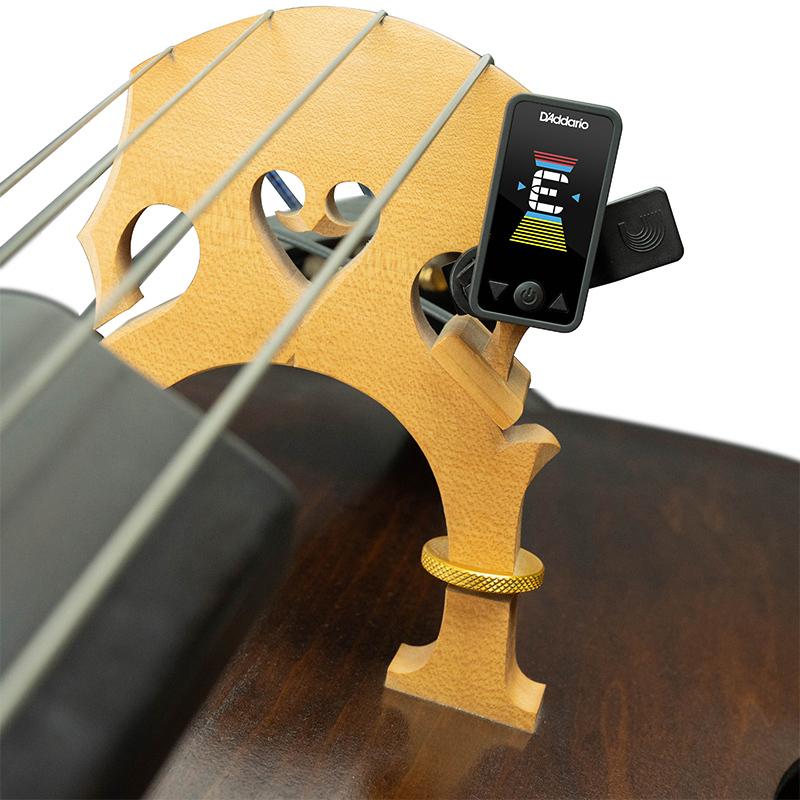 D'Addario PW-CT-17CBK Eclipse Cello/Bass Tuner - Black クロマチックチューナー【ダダリオ】