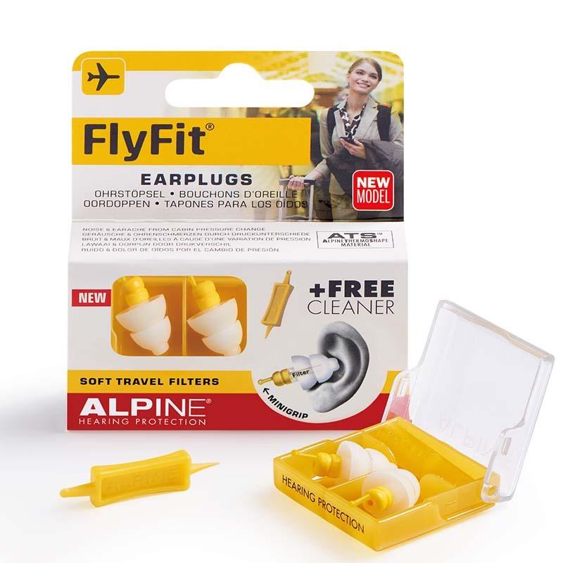 ALPINE HEARING PROTECTION FlyFit MINI GRIP 航空機内用イヤープラグ 耳栓 【アルパインヒアリングプロテクション】
