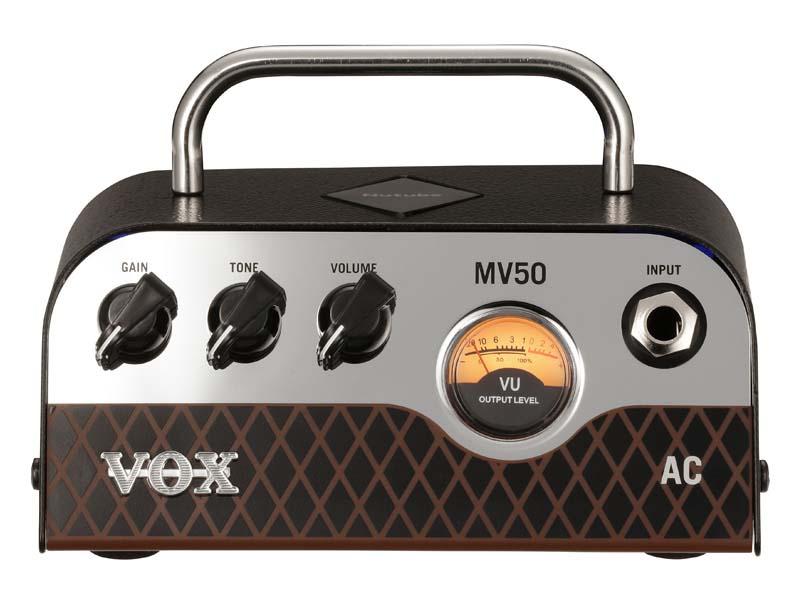 VOX/Nutube搭載 ギターヘッドアンプ MV50-AC【ボックス】