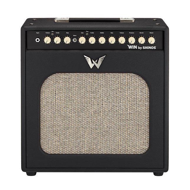 SHINOS AMP/WIN Black SHI-WIN50 ハンドメイドギターコンボ 【シノーズ】【受注生産品】