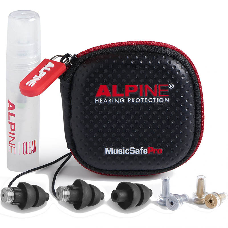 ALPINE HEARING PROTECTION/耳栓 NEW MusicSafe Pro BLK(ブラック)