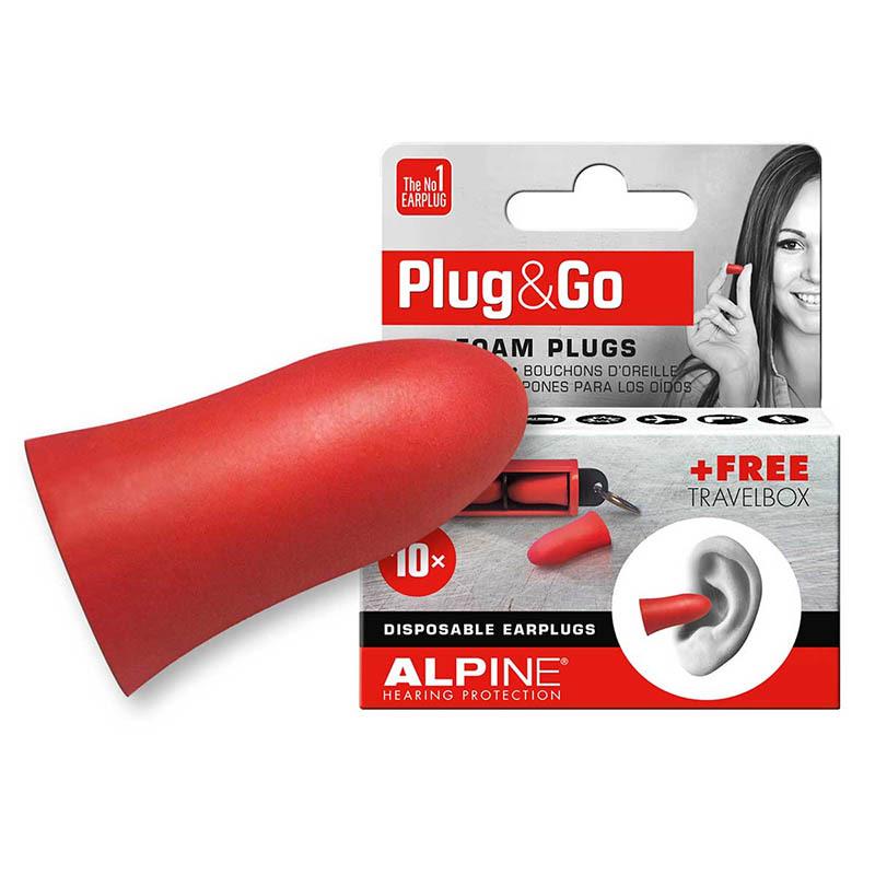 ALPINE HEARING PROTECTION/耳栓 Plug&Go