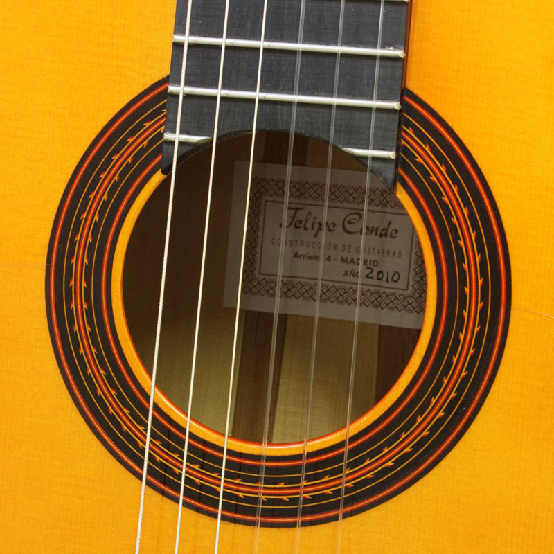 Felipe Conde/Flamenco Guitar フラメンコギター FP14 664mm Scale【フェリペ・コンデ・Made in SPAIN】