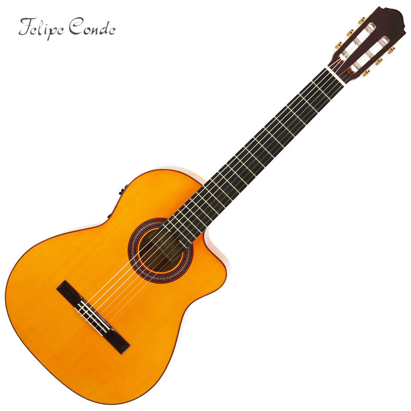 Felipe Conde/Flamenco Guitar フラメンコギター FP14CW Electric Model【フェリペ・コンデ・Made in SPAIN】