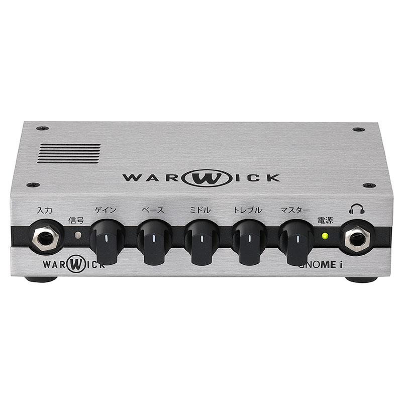 Warwick GNOME series Gnome i 200W USBインターフェース機能付き ベースヘッドアンプ【ワーウィック】