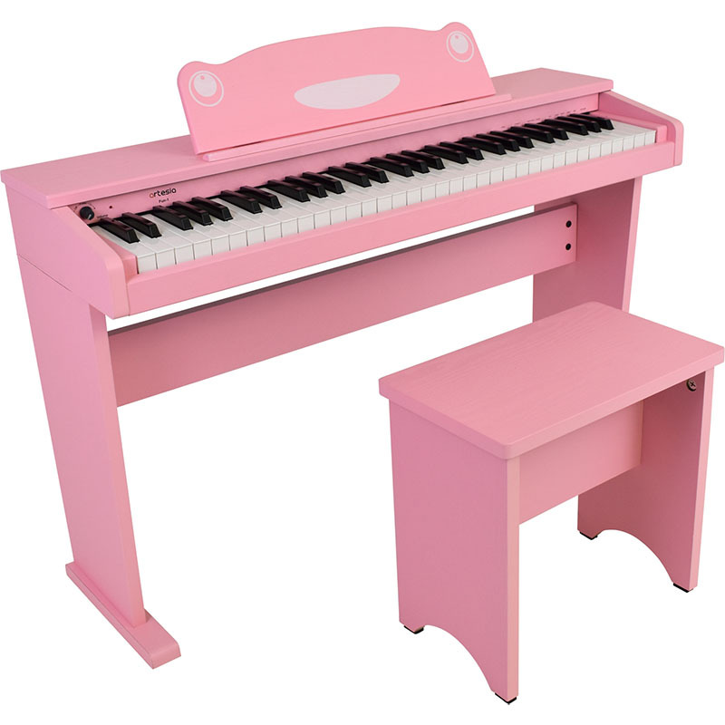 Artesia/デジタルピアノ FUN1 61 鍵盤キッズピアノ ピンク【アルテシア】【電子ピアノ】