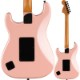 Squier by Fender Contemporary Stratocaster HH FR, Roasted Maple Fingerboard, Black Pickguard, Shell Pink Pearl【スクワイア フェンダー】