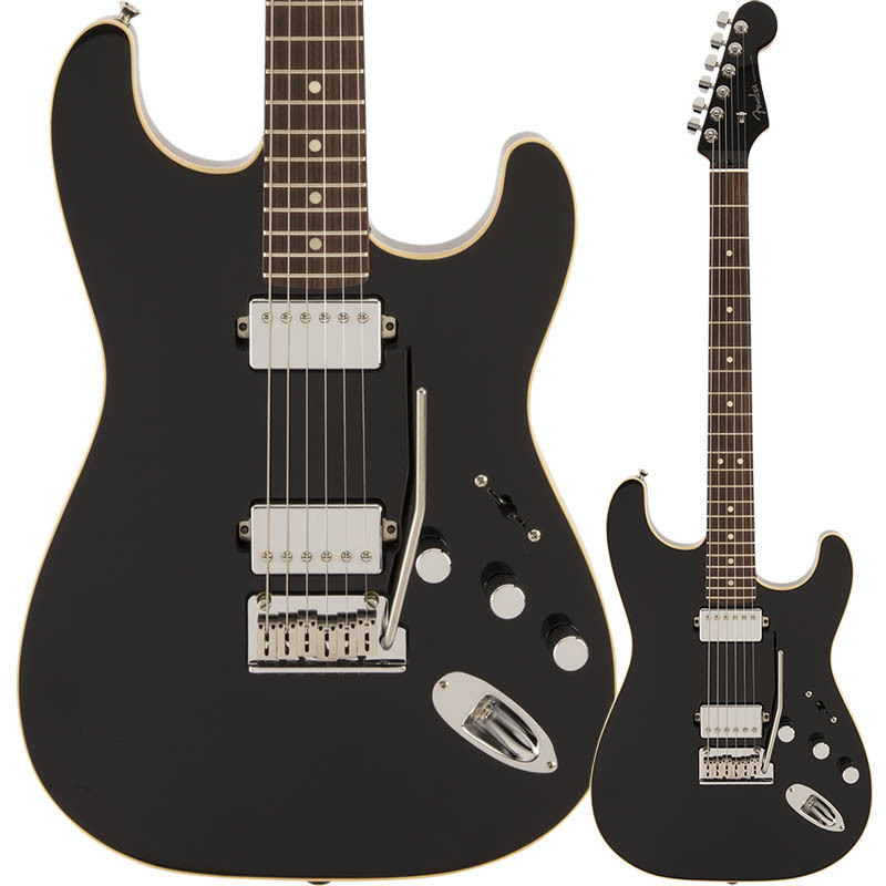 Fender Made in Japan Modern Stratocaster HH, Rosewood Fingerboard, Black【フェンダージャパン】