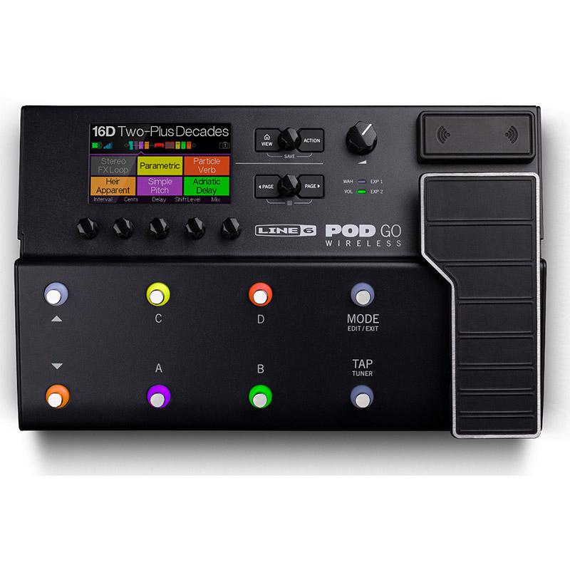 LINE6 POD Go Wireless マルチエフェクター【ラインシックス】