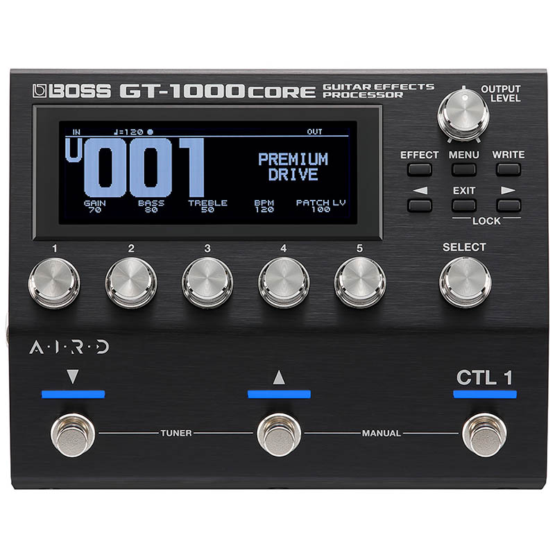 BOSS GT-1000 CORE GUITAR EFFECTS PROCESSOR マルチ・エフェクター【ボス】
