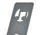 KC/譜面台 MS-2AL 軽量、丈夫なアルミ譜面台 MS シリーズ【キョーリツ】