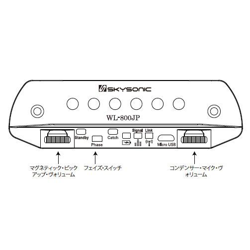 Skysonic WL-800JP Wireless Soundhole Pickup【スカイソニック】