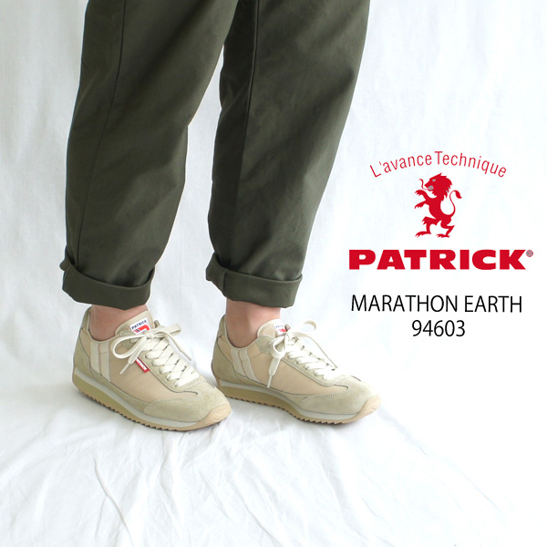 PATRICK【パトリック】MARATHON マラソン スニーカー EARTH 94603 MARATHON-EARTH