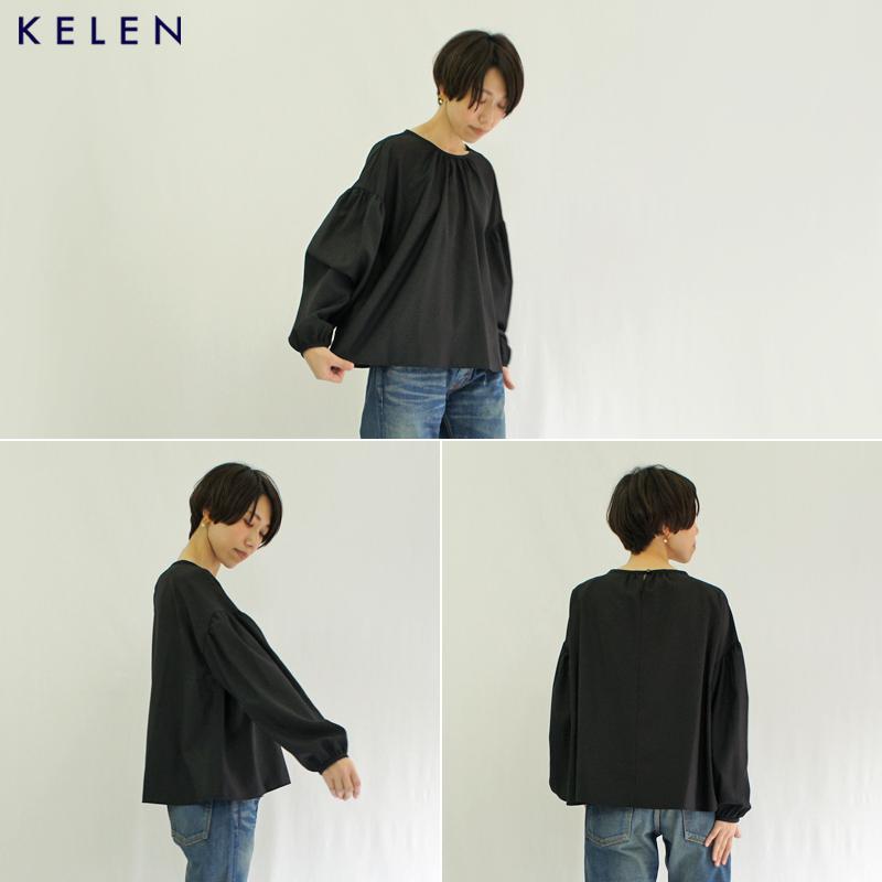 kelen【ケレン】TRクロスギャザートップス『Etty』 LKL20HBL1