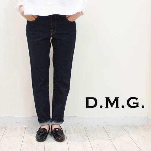 DMG / D.M.G.【ディーエムジー/ドミンゴ】11オンスストレッチデニム 5ポケットアンクルスリム 13-761D-1