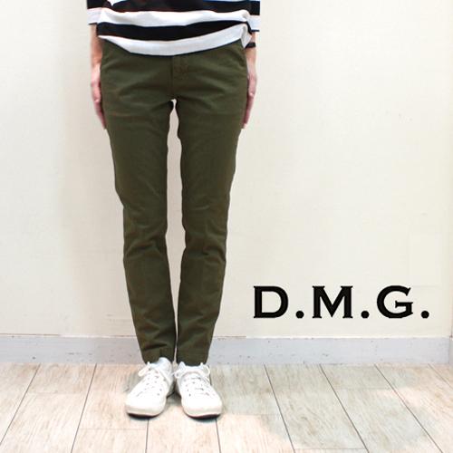 DMG / D.M.G.【ディーエムジー/ドミンゴ】コンパクトチノストレッチ アンクルスリムトラウザー 13-763T