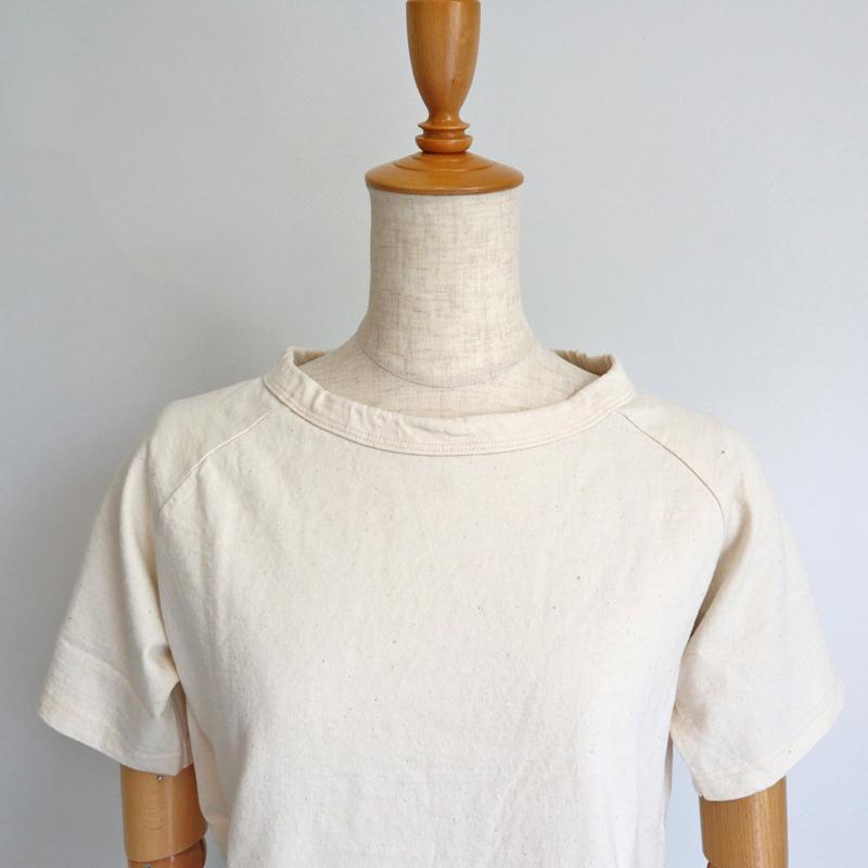 【メール便送料無料】Dana Faneuil ダナファヌル ムラ糸天竺ラグラン半袖Tシャツ D5616205C