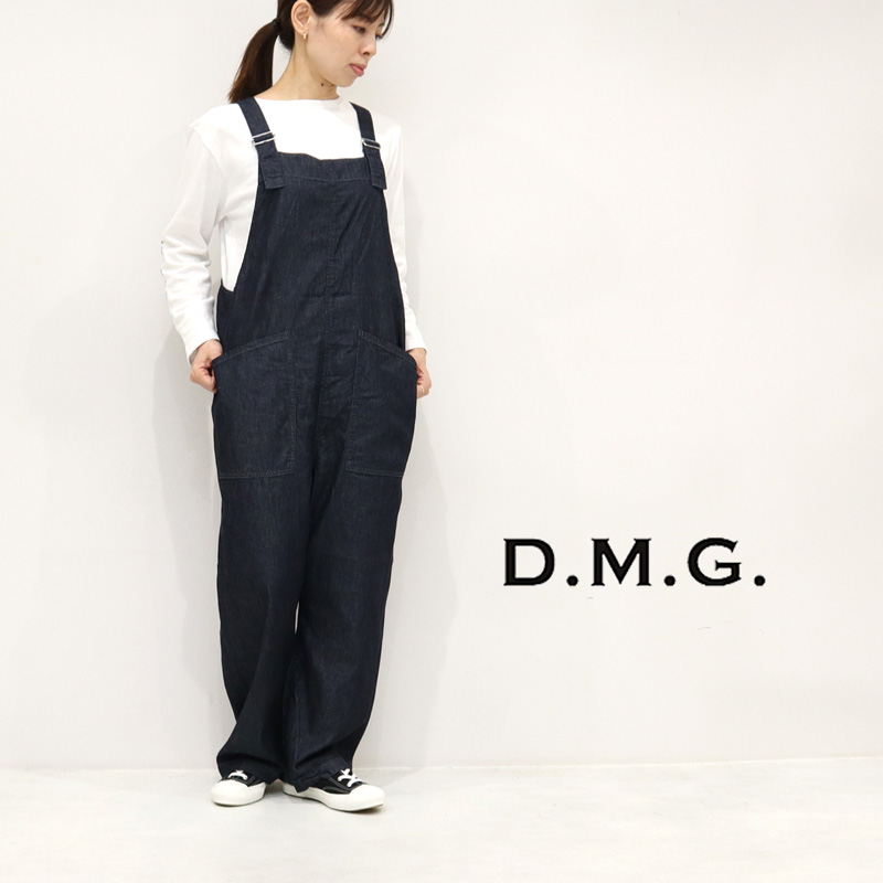 DMG D.M.G. ディーエムジー ライトオンスデニム オーバーパンツ ドミンゴ 14-141E