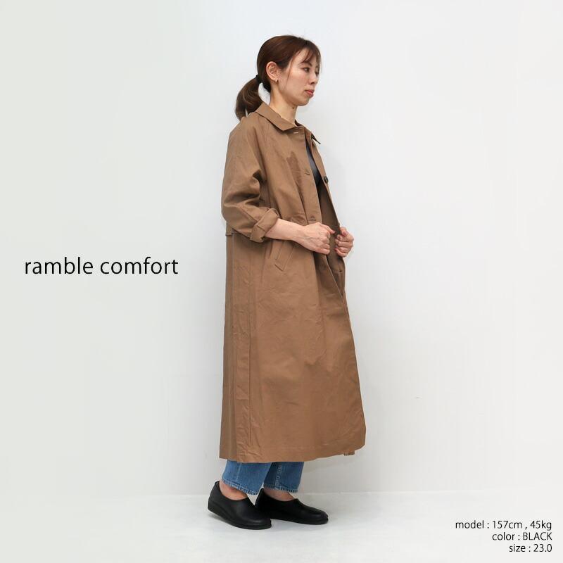 ramble ランブル オイルシュリンクレザースリッポン 373-63424