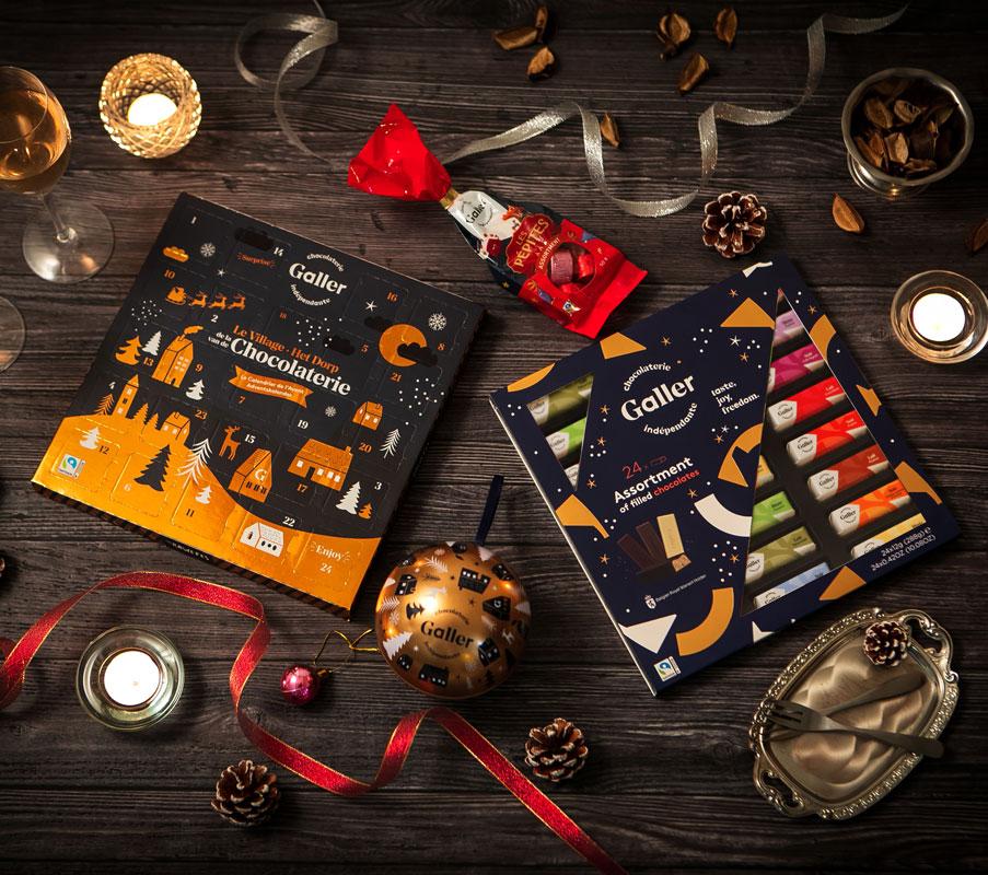 【シーズン限定】クリスマスぺピートチョコレートアソート 10個入