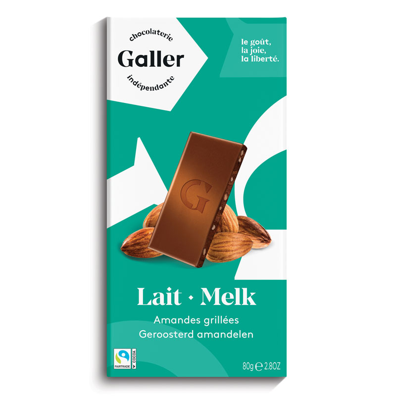 Tablets タブレットシリーズ:Lait・Melk ミルクアーモンド